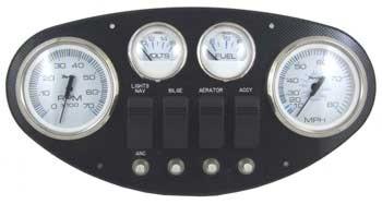 instrument panels gauges marine engine parts fishing. Black Bedroom Furniture Sets. Home Design Ideas