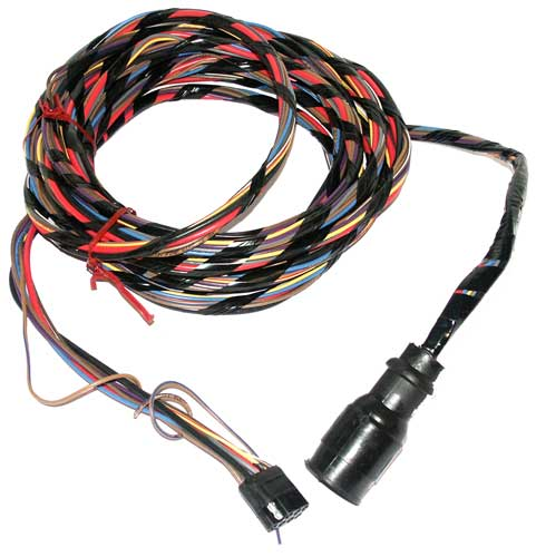 MAR6118 25 wire harness adapter mercruiser volvo 14 pin male to 9 pin female Auto Wiring Color Code 1950 Mercury at gsmx.co