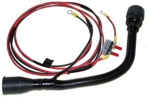 wiring harnesses marine engine parts fishing tackle basic wire harness adapter 14 to 9 pin mercruiser volvo