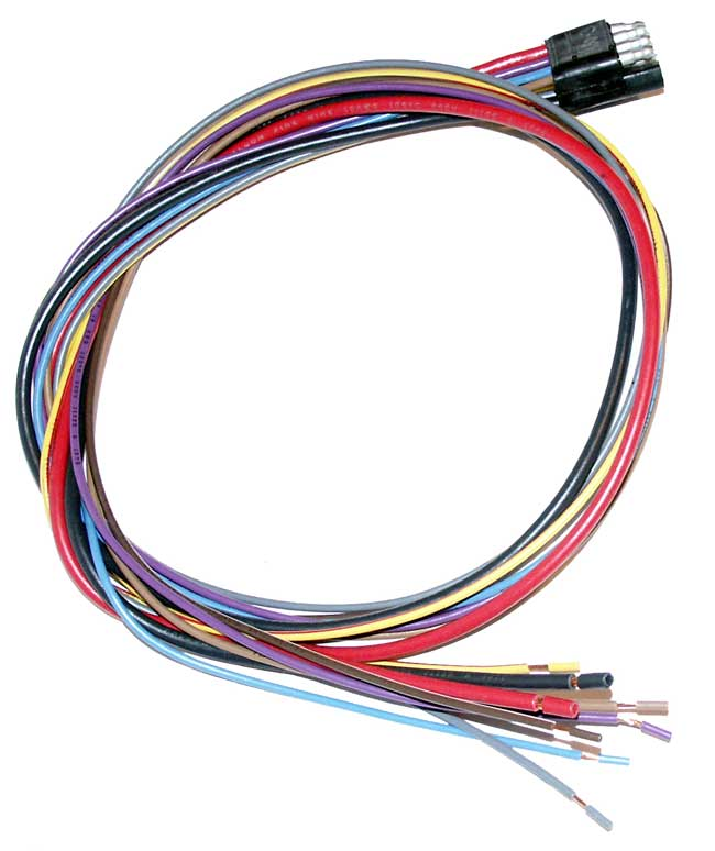 Terrific Wire Harness To Rewire Instrument Panel 8 Pin Rectangle Plug 3 Feet Wiring Cloud Mangdienstapotheekhoekschewaardnl