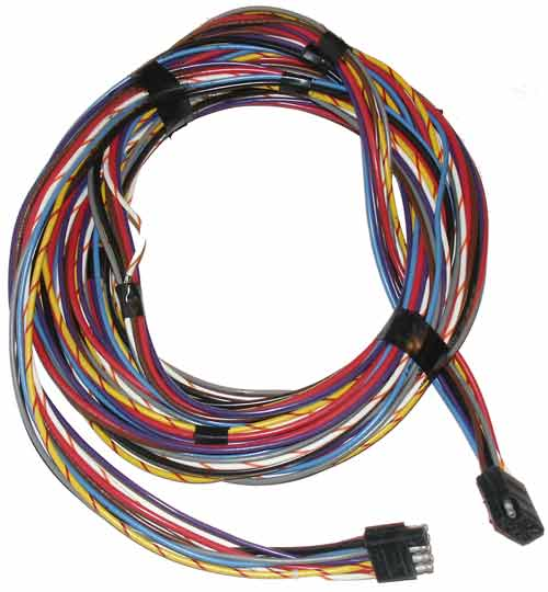 wiring harnesses marine engine parts fishing tackle basic wire harness square male to square female 8 pin 20 feet marine color coded