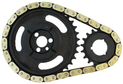 Timing Chain for GM Small Block V8 Single Row using Flat Tappet