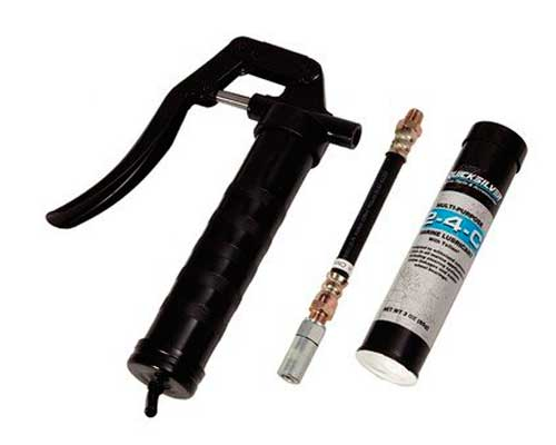 Details about Grease Gun Kit with 2-4-C Multi-Purpose Marine Lubricant  Quicksilver 91-74057Q5