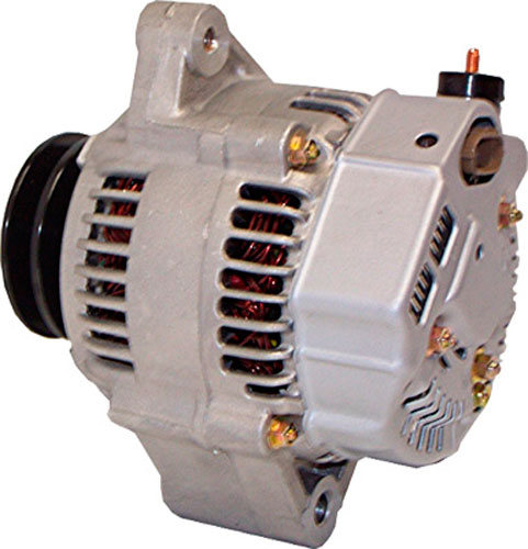 Alternator, Diesel, Nippondenso Replacement for Yanmar 12 Volt, 80 Amp
