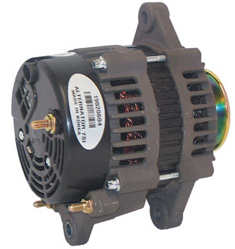 alternators marine engine parts fishing tackle basic power alternator for mercruiser 3 0l 1999 up 12 volt 70 amp v belt 862030t