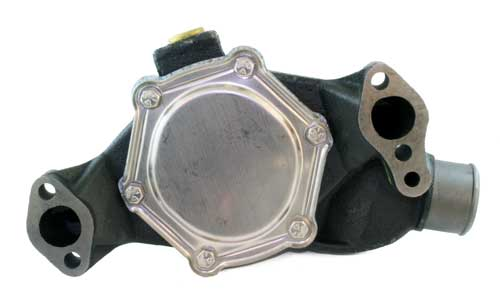 Rear  Side  of  water  pump    (click  to  enlarge)