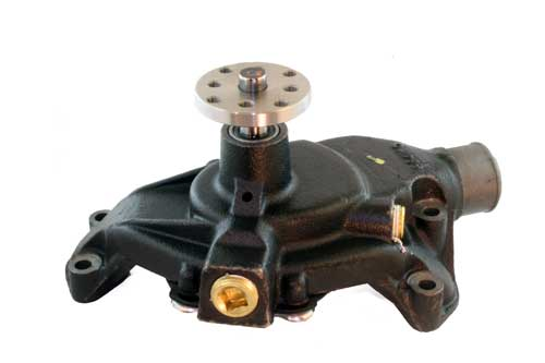 Top Side of water pump (click to enlarge)
