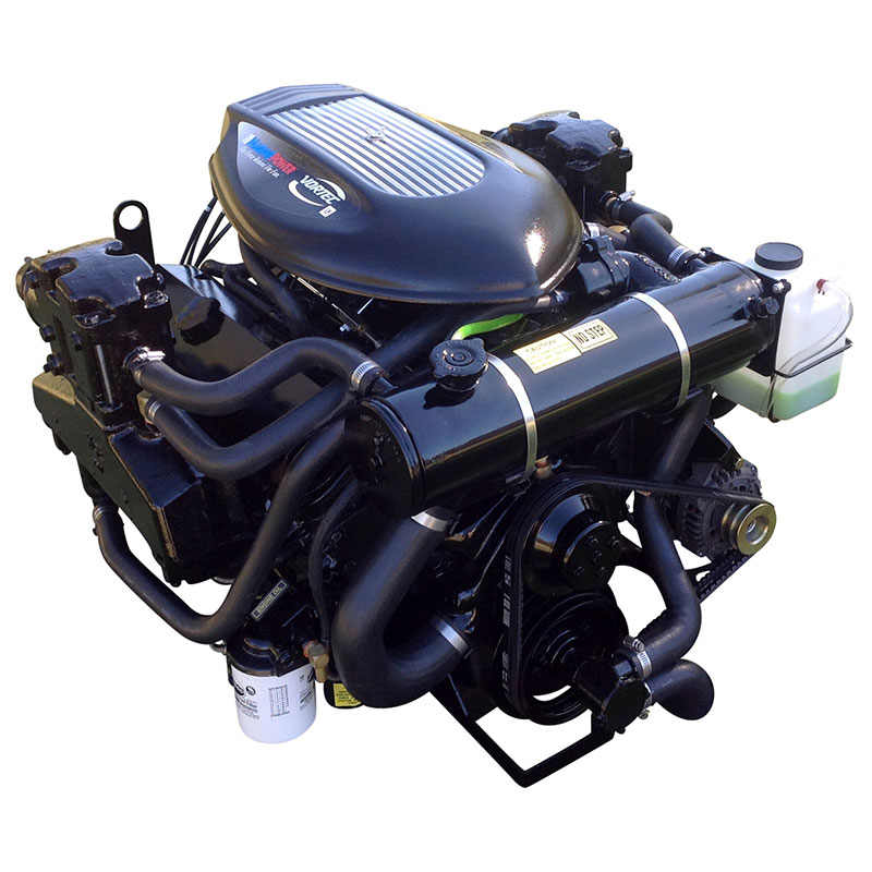 7.4L 454 GM LH Carbureted FWC Inboard Marine Engine by Marine Power S454S
