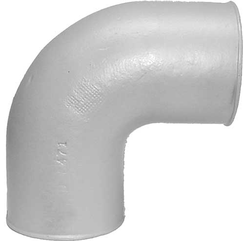 Cast iron exhaust fittings