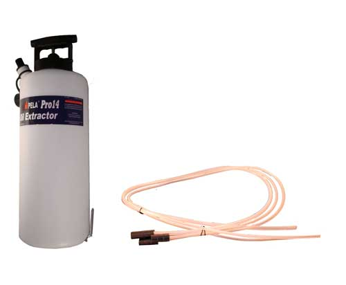 Oil Extractor Marine Oil Change Easy Pump PRO 14 Liter 14.8 quart