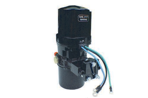 tilt trim motor pump for volvo penta outdrive prestolite. Black Bedroom Furniture Sets. Home Design Ideas
