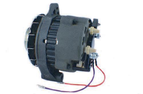alternators marine engine parts fishing tackle basic power alternator for mercruiser 65 amp serpentine belt mando marine 807653