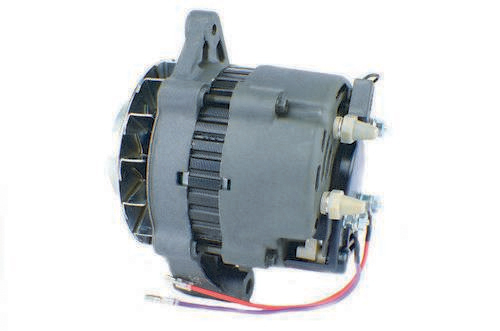 NEW 105 AMP 12V  CONVERSION ALTERNATOR FOR MOTOROLA WITH DOUBLE PULLEY