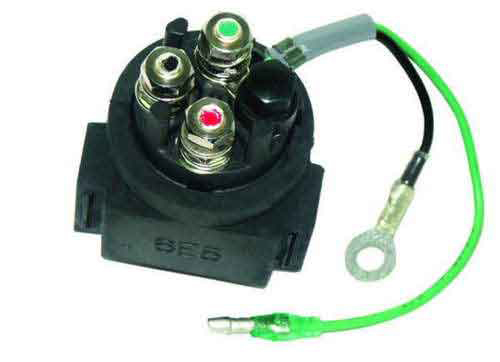 Solenoid for Johnson Evinrude 9.9-70 HP Yamaha 115-200 HP 5030783 6E5-8195A-00-00