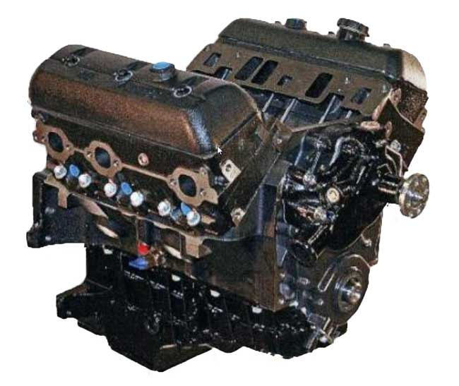 4 3l gm vortec base v6 marine engine
