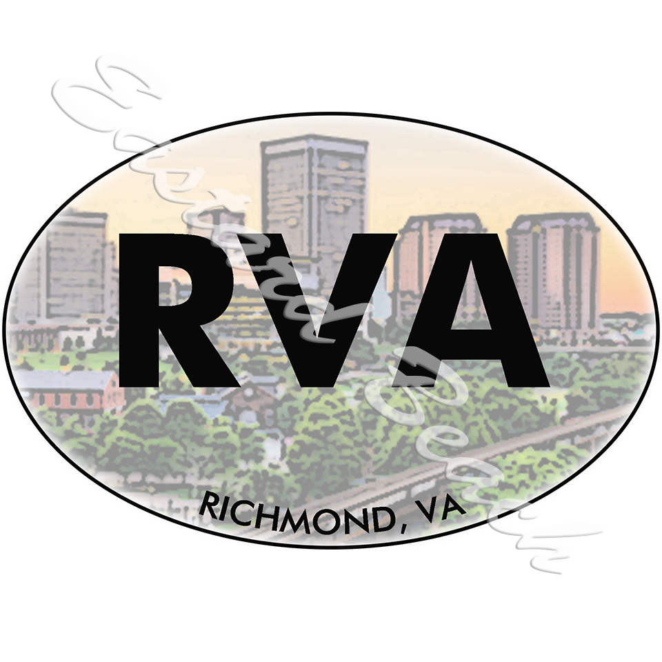 RVA - Richmond VA Skyline