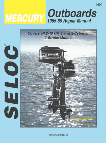 service repair manuals for mercury mariner outboards