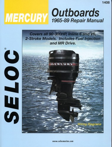 repair manual, mercury outboards 65 89 90 300 hp [sel1408] $28 95 vip wiring diagram repair manual, mercury outboards 65 89 90 300 hp