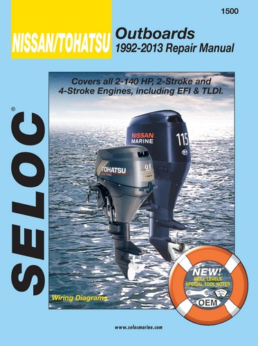 Nissan Tohatsu Outboards Manuals