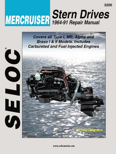 Repair Manual, Mercruiser Inboard, I-O 64-91