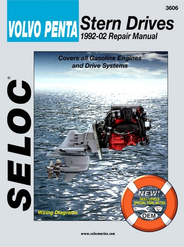 Repair Manual for Volvo Inboard and I-O 1992-2002