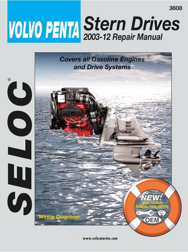 Repair Manual for Volvo Inboard and I-O 2003-2012