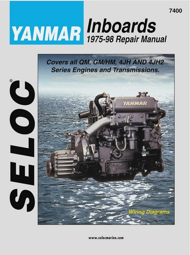 Repair Manual, Yanmar sel 75-98 [SEL7400] - $34.95 : Marine Engine on