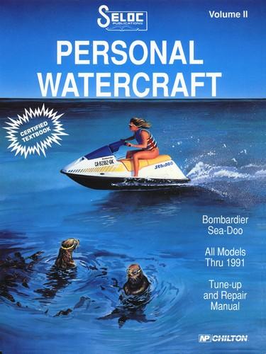 Repair Manual Sea Doo PWC 88 91