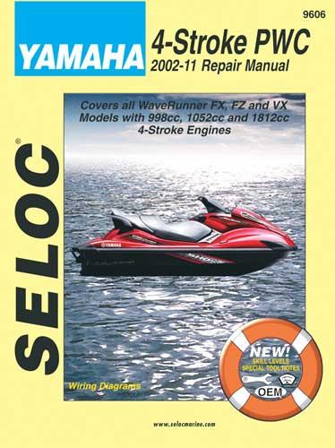 Yamaha PWC Service Manuals : Marine Engine Parts   Fishing