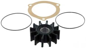 Impeller Kit, Thru-Key Design, Sherwood Raw Water Pumps,