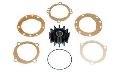 Impeller Kit, Sherwood Raw Water Pumps, Volvo, Chrysler, Pleasurecraft