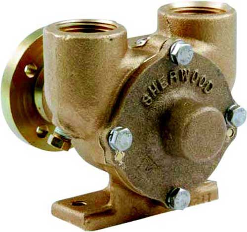 Water Raw Pump for Crusader Marine Engines Sherwood E35 97179 SHEE35
