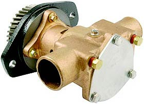 Raw Water Pump, Cummins 6B, 3922590, Sherwood P1716C
