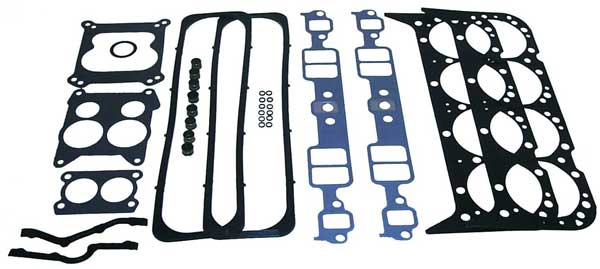 Head Gasket Set for GM 5.7L 350 V8 Center Bolt Valve Cover 12 Bolt Intake