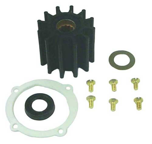 Impeller Seal Kit for Johnson Crank Mount Water Pump 10-24232-1 F6B - 9 09-45825 SIE18-3089