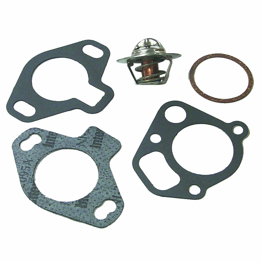 Thermostat Kit for Mercruiser GM and Ford V8 143 Degree 807252Q3