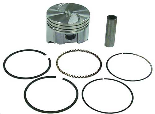 Piston Kit Standard for Mercruiser 3.7L 224 4 Cyl