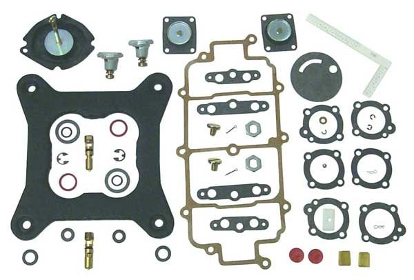 Carburetor Kit for Holley Marine Carburetors Crusader Volvo