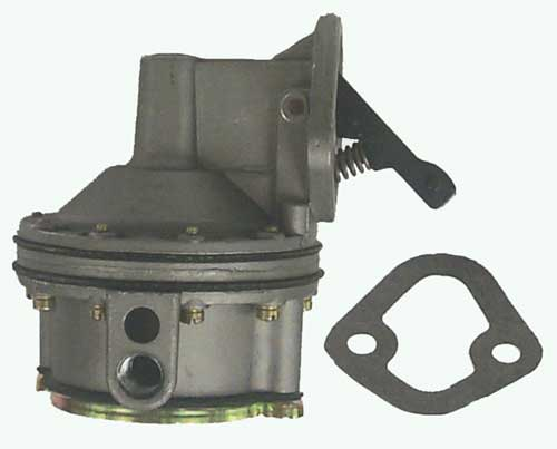 Fuel Pump Marine for GM Small Block AC Style V8 Flange ID 41412