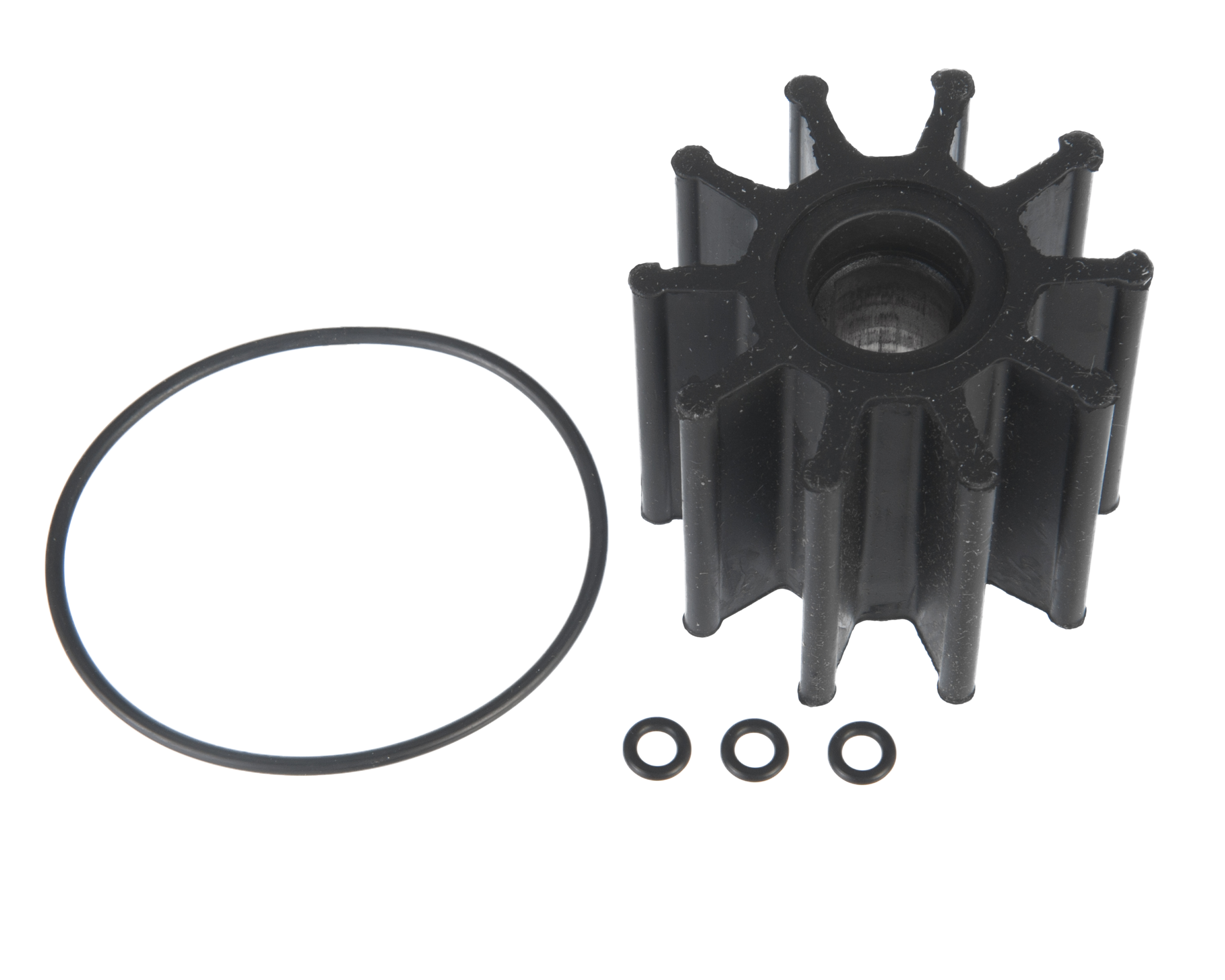 Impeller Kit, Raw Water Pump, 5.7L, 6.0L, 8.1L for Serp. Belt Pump