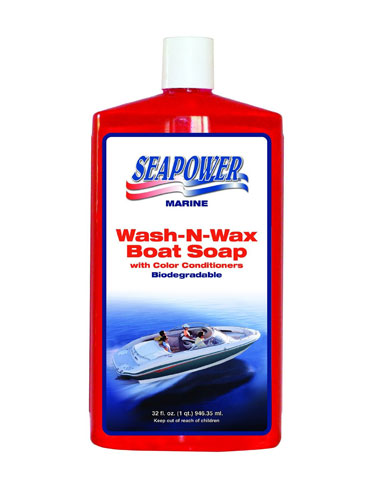 Boat Cleaners Waxes Protectants