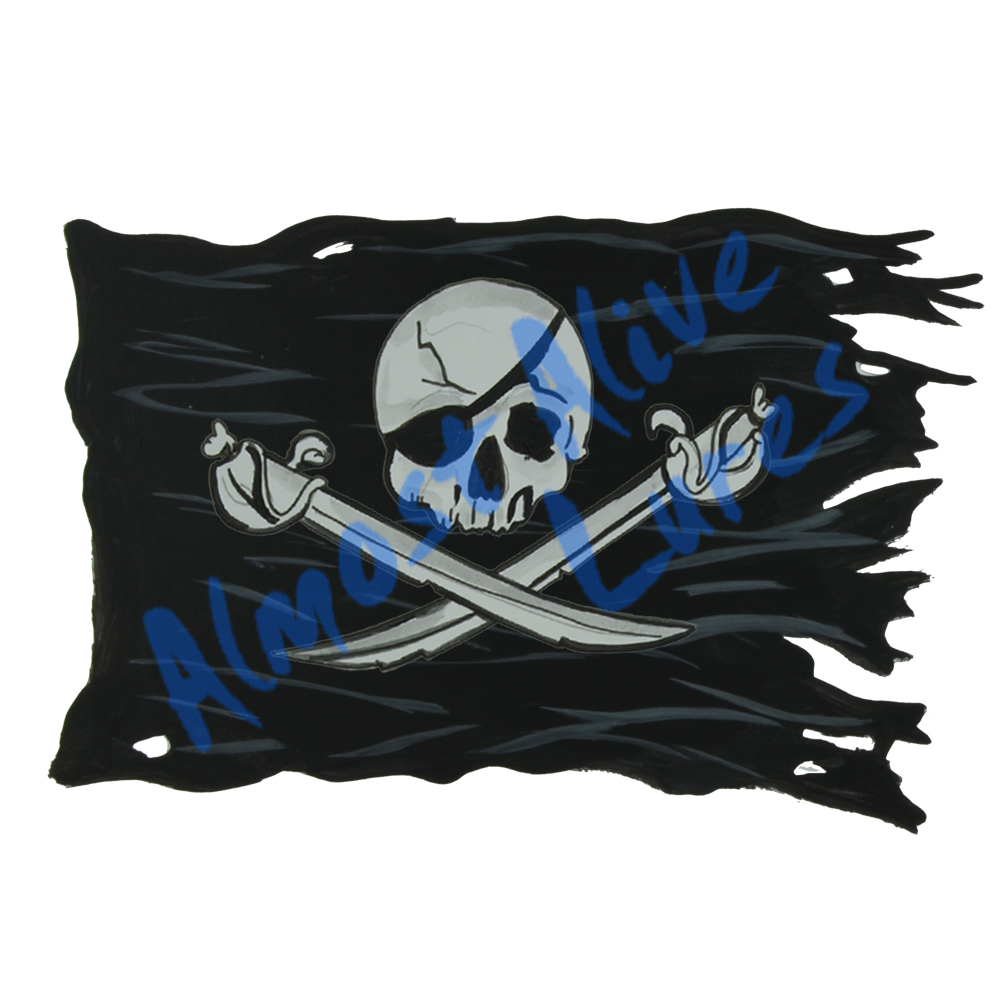 Pirate Battle Flag STK595