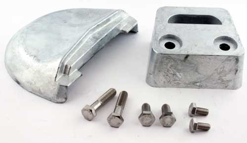 Anode Zinc Kit for Volvo Penta SX Outdrives with Hardware