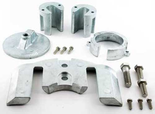 Anode Zinc Kit for Mercruiser Bravo 1 Outdrives with Hardware