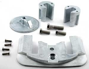 Anode Zinc Kit for Mercruiser Bravo 2 and 3 Outdrives With Hardware