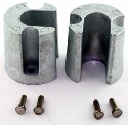 Anode Zinc Kit for Mercruiser Bravo Trim Cylinders With Hardware