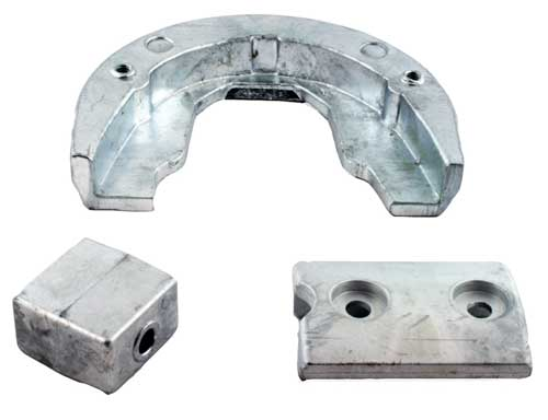 Anode Zinc Kit for OMC Stringer Outdrive 1985 and Earlier