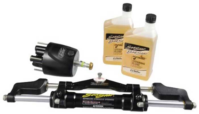 Hydraulic Steering Kit for Outboard without hoses Teleflex Seastar Pro HK7400