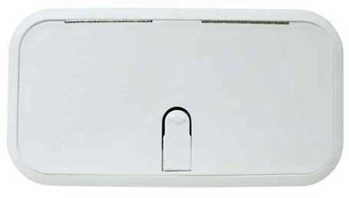 Hatch Cover Boat Designer Series 7 Inch x 14 Inch Polar White