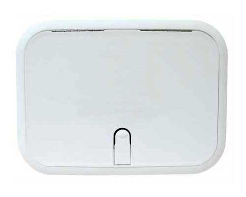 Boat Hatch Designer Series 11 Inch x 15 Inch Polar White
